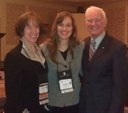 Drs. Jane Myers and Tom Sweeney with Dr. Cheryl Pence Wolf