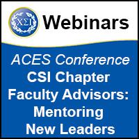 ACES 2013 Chapter Faculty Advisor Training: Mentoring New Leaders