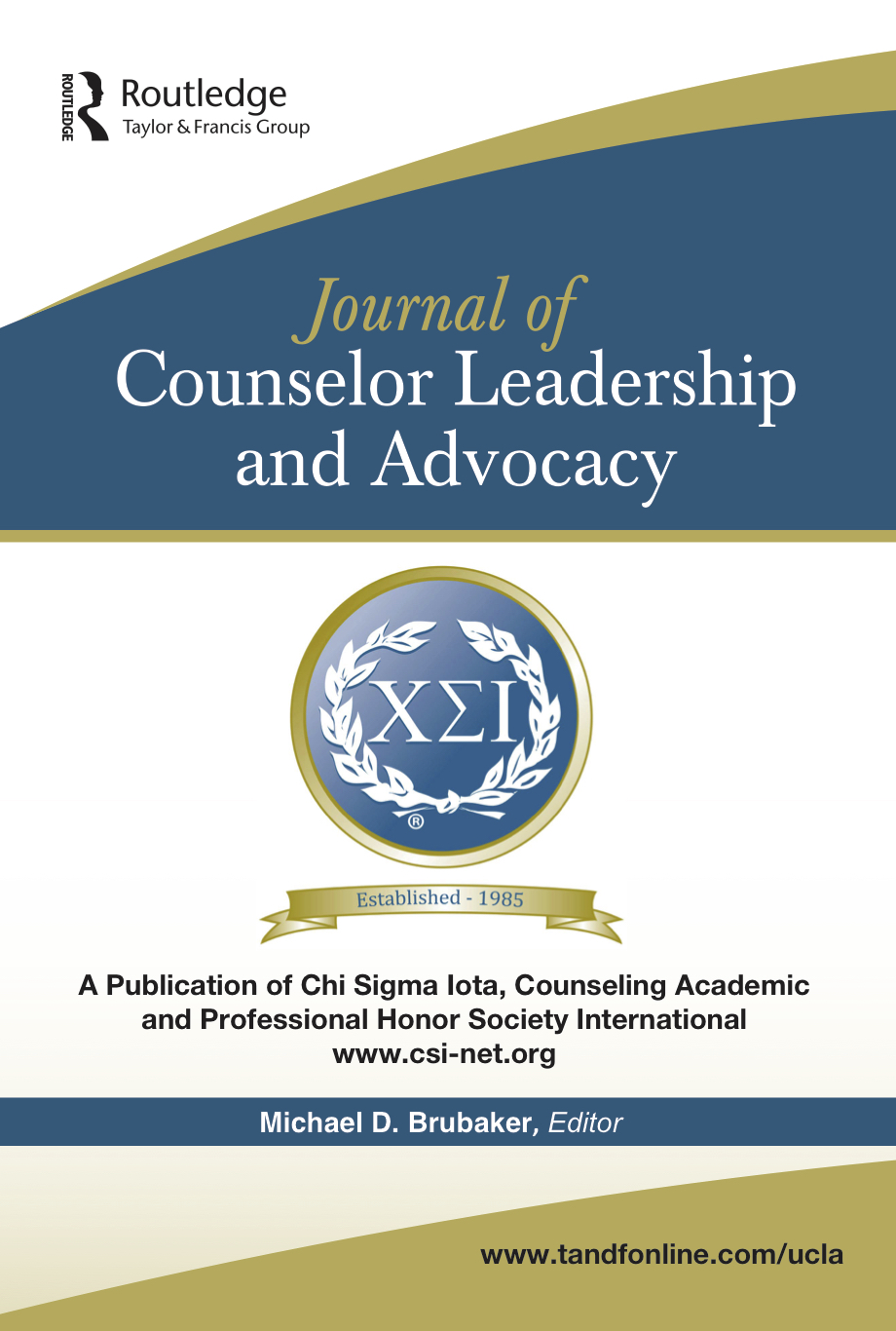 Journal of Counselor Leadership & Advocacy (JCLA)