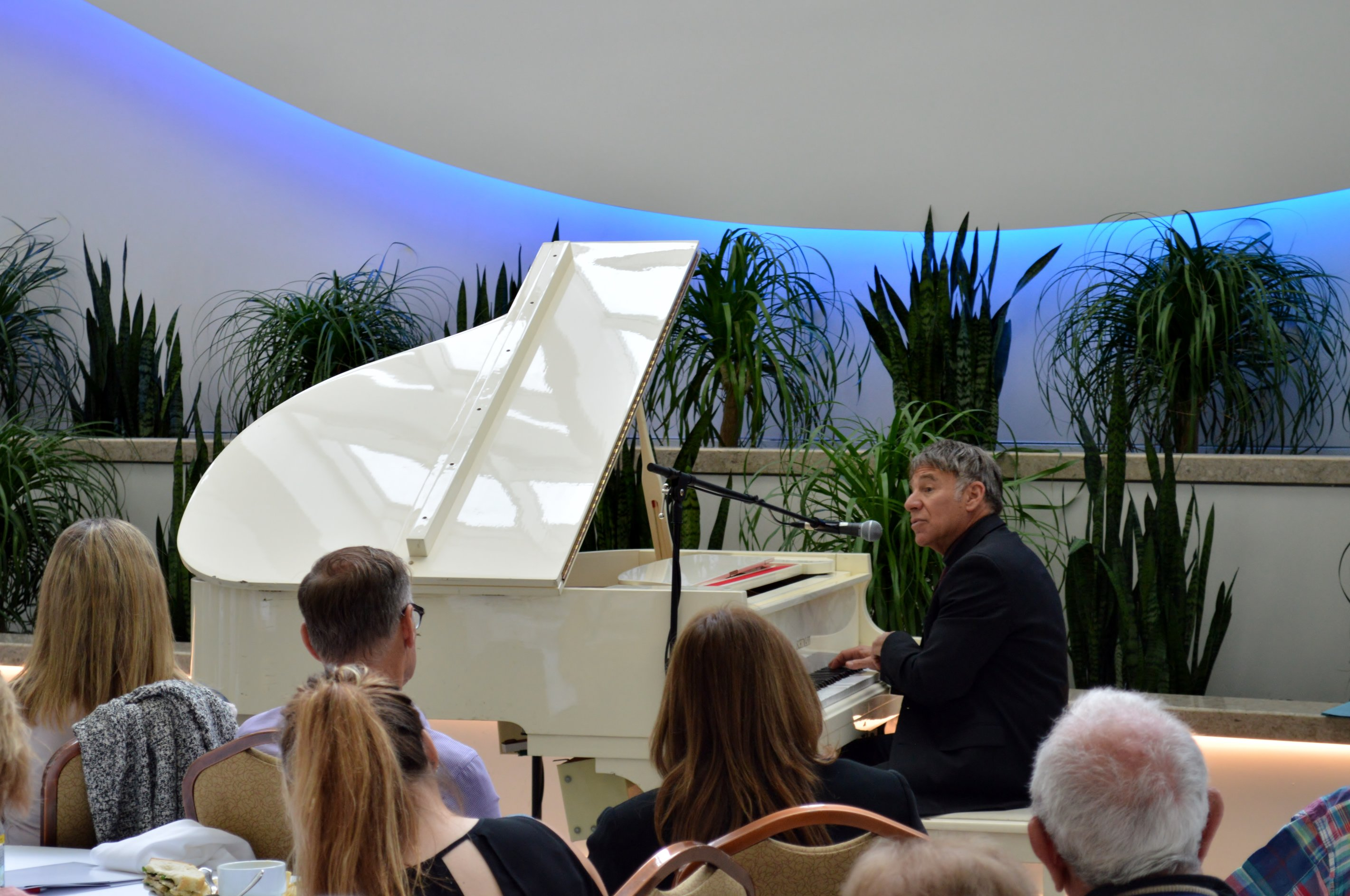 Stephen Schwartz at piano