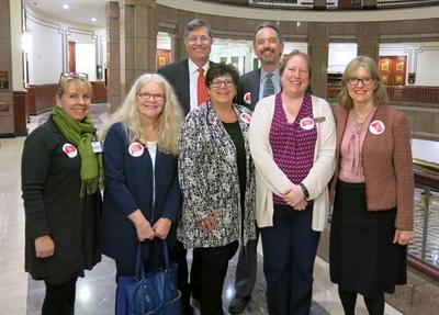 librarians testifying at LOB