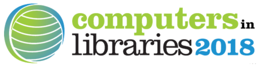 Computers in Libraries 2018 logo