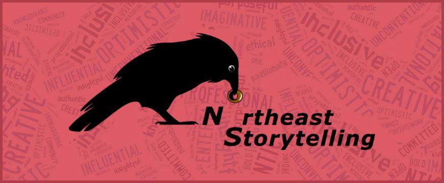 NEST logo red background