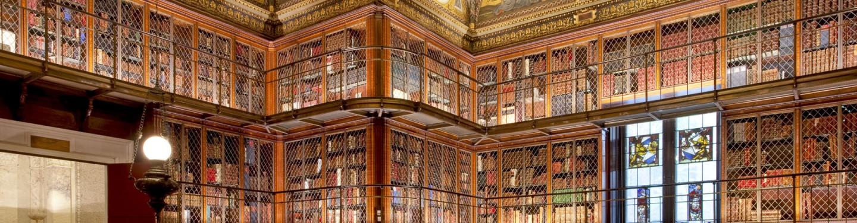 Morgan Library panoramic photo
