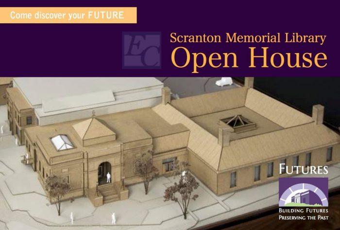 Scranton Library Open House graphic
