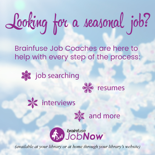 JobNow Seasonal Employment graphic