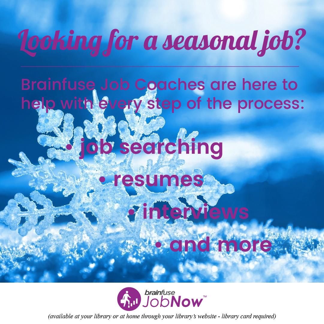 November JobNow graphic