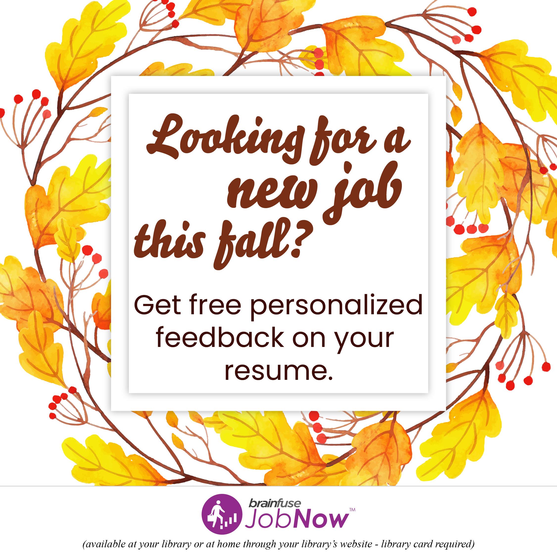 October JobNow graphic