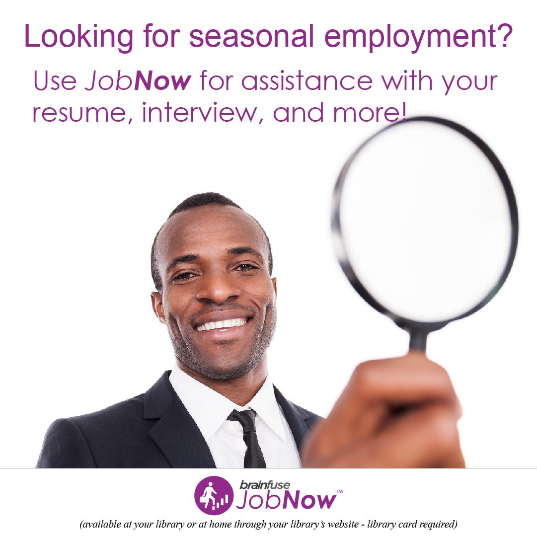 December JobNow graphic