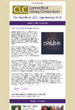 September 2018 Newsletter