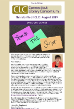 August 2019 Newsletter Annual Meeting edition