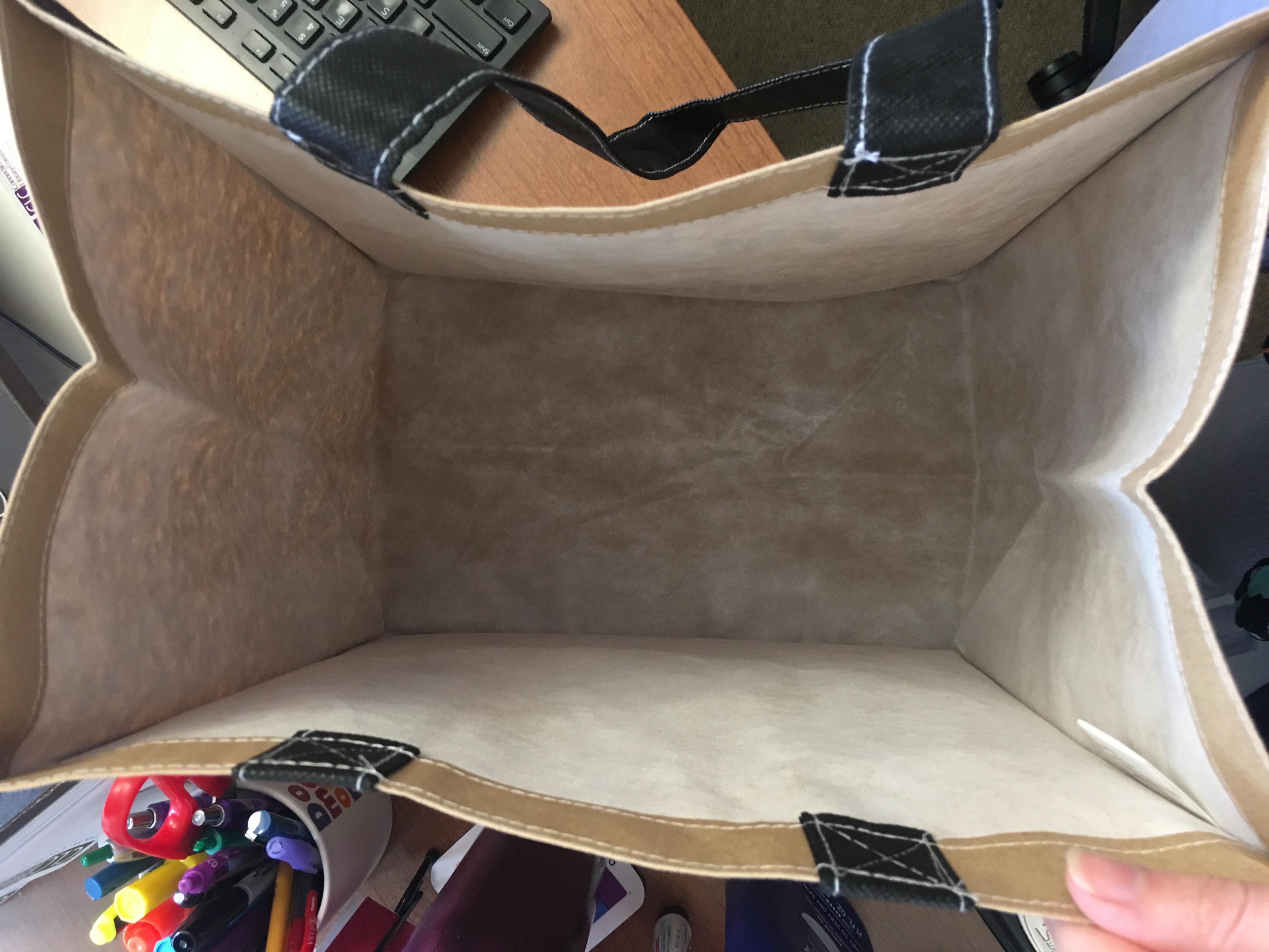 maker bag interior