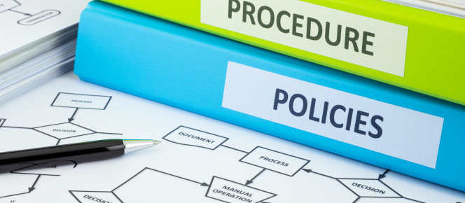 policies procedures binders