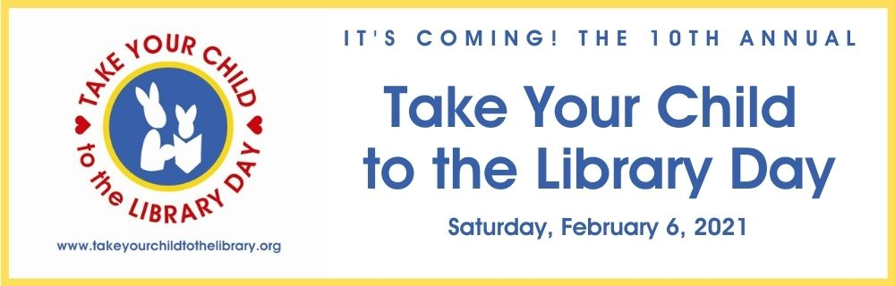 Take Your Child to the Library Day banner