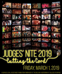 44th Annual Judges' Nite - Cutting the Cord