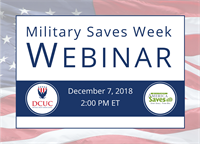 Military Saves Week Webinar
