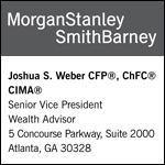 Josh Weber | Morgan Stanley Smith Barney