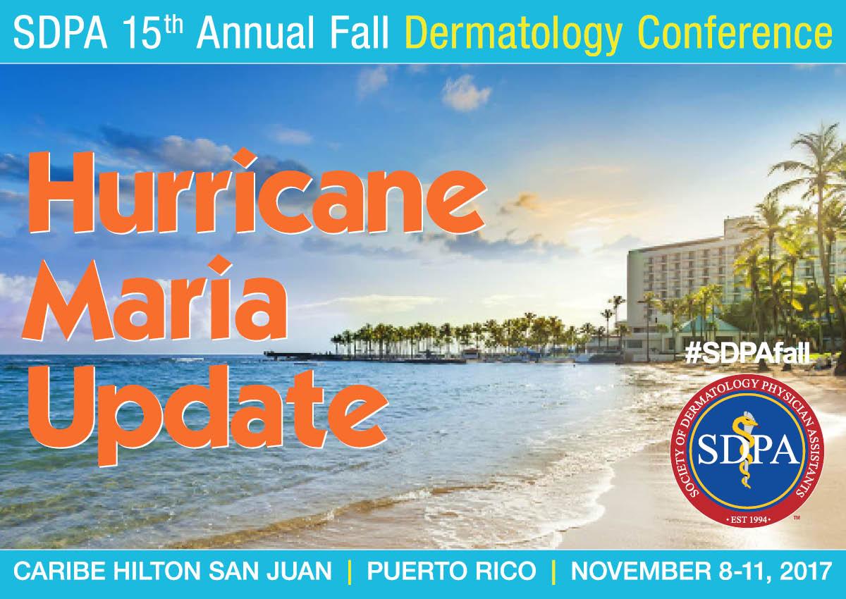 SDPA Fall 2017   Hurricane Maria