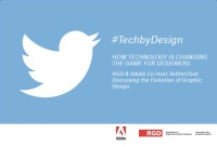 #TechbyDesign Twitter-Chat hosted by @Adobe & @RGD