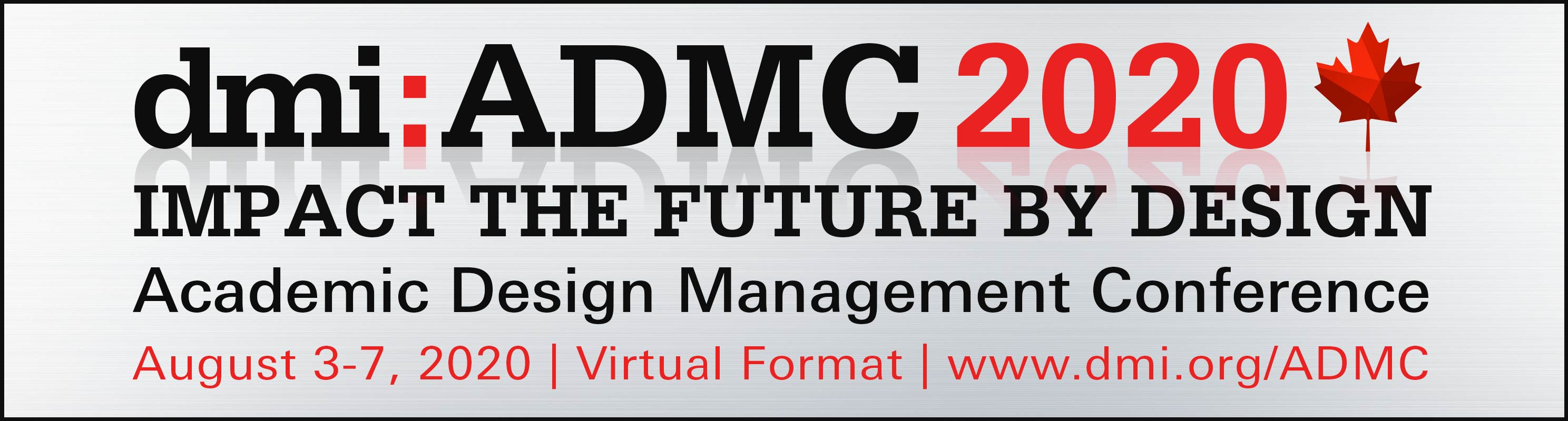 dmi:Academic Design Management Conference: Impact the Future by Design