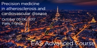 EAS Advanced Course on Precision Medicine in Atherosclerosis, Paris, France
