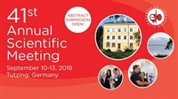 Abstract submission extended - 41st ELC meeting, Tutzing, Germany, September 10-13, 2018