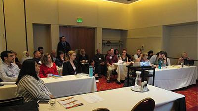 EDRA49 graduate student workshop attendees