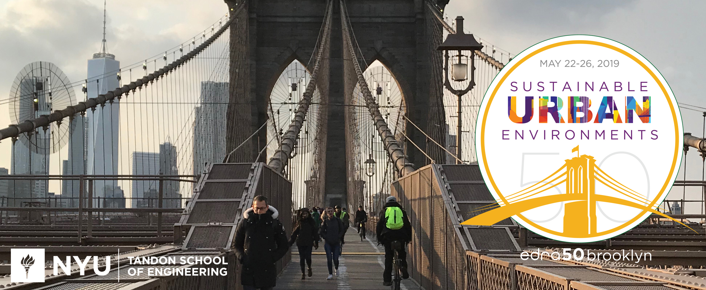 EDRA50Brooklyn: Sustainable Urban Environments – May 22-26, 2019