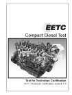 Compact Diesel Certification Test Student Pricing