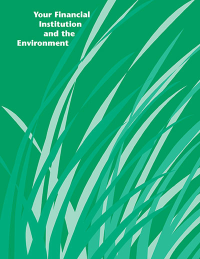 Download PDF: Your Financial Institution and the Environment
