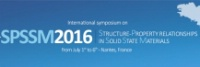 6th International Symposium on Structure Property Relationships in Solid State Materials (SPSSM-2016