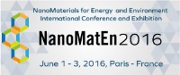 Conference & Exhibition: NanomatEn 2016 - NanoMaterials for Energy and Environment International