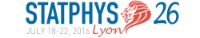 STATPHYS26 - 26th IUPAP International conference on Statistical Physics