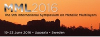 MML 2016 : The 9th International Symposium on Metallic Multilayers