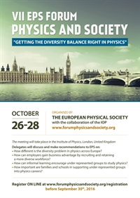 VII EPS Forum Physics and Society