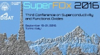 Third COnference on Superconductivity and Functional Oxides : SuperFOx 2016