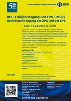 CMD27 : 2018 Joint Conference of the Condensed Matter Divisions of the EPS and the DPG