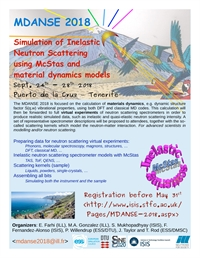 MDANSE 2018 - Molecular Dynamics and Lattice Dynamics to Analyse Neutron Scattering Experiments