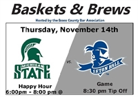 Baskets & Brews - SHU v. Michigan State