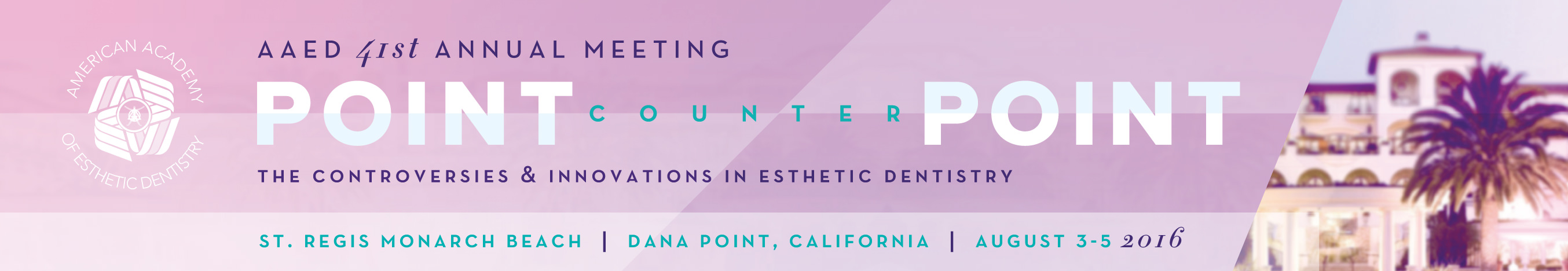 41st Annual Meeting - Point Counter Point