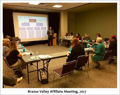 Brazos Affiliation Meeting, 2017