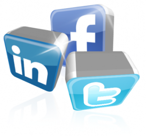 Social Media icons - graphic