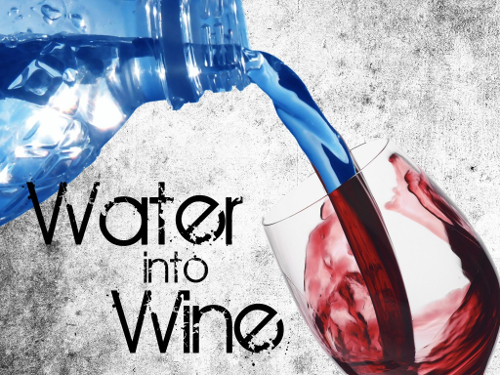 Water into Wine - graphic