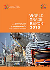 World Trade Report 2015 Cover