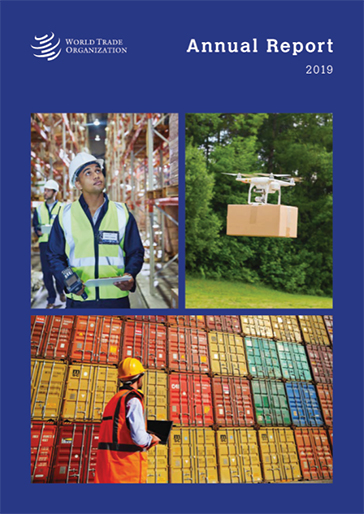 WTO annual report 2019 cover