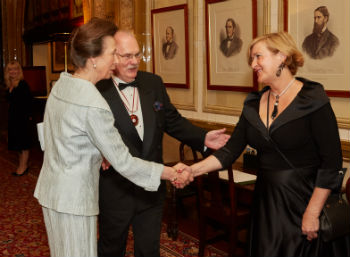 Lesley Batchelor OBE meets HRH The Princess Royal
