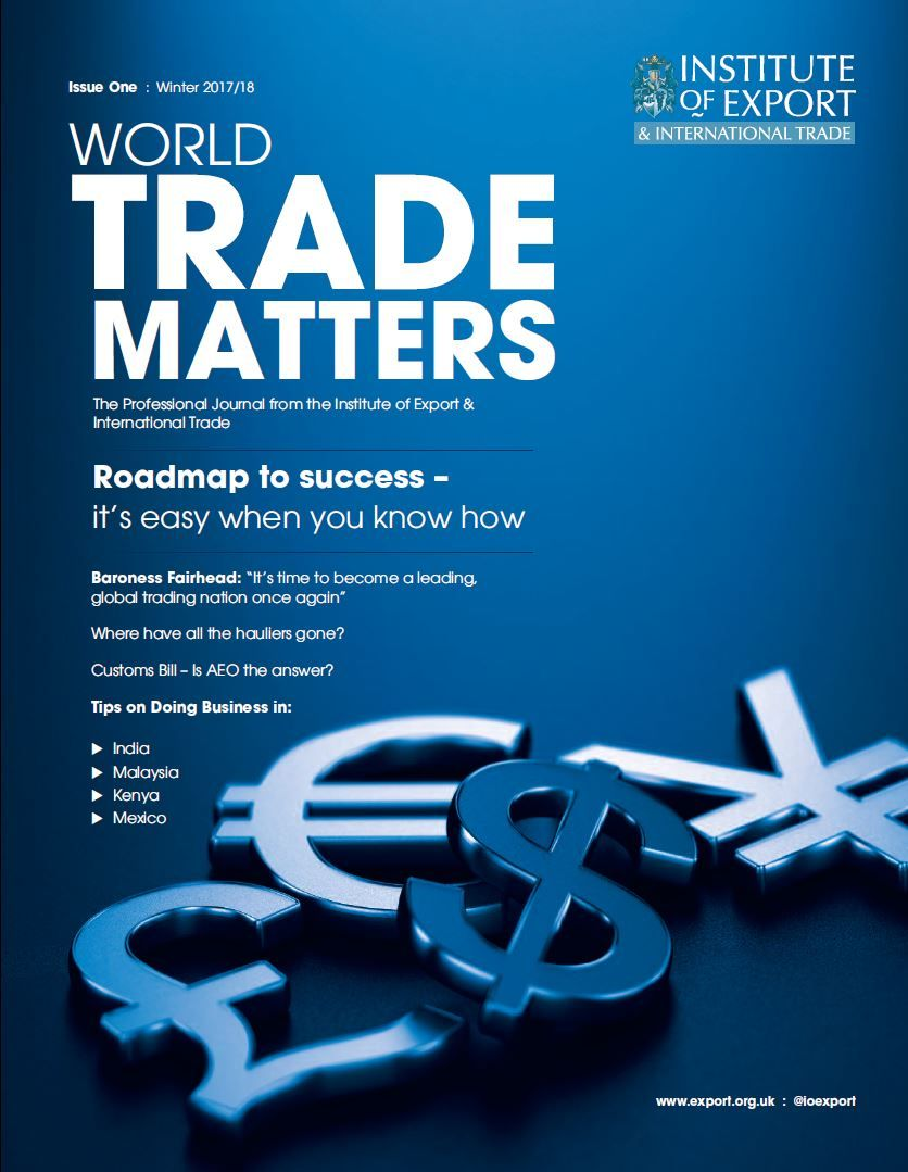 World Trade Matters front cover