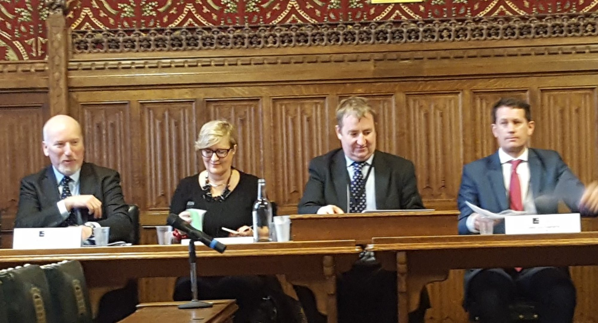 Panel at the APPG debate on anti corruption