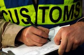 Image of customs official