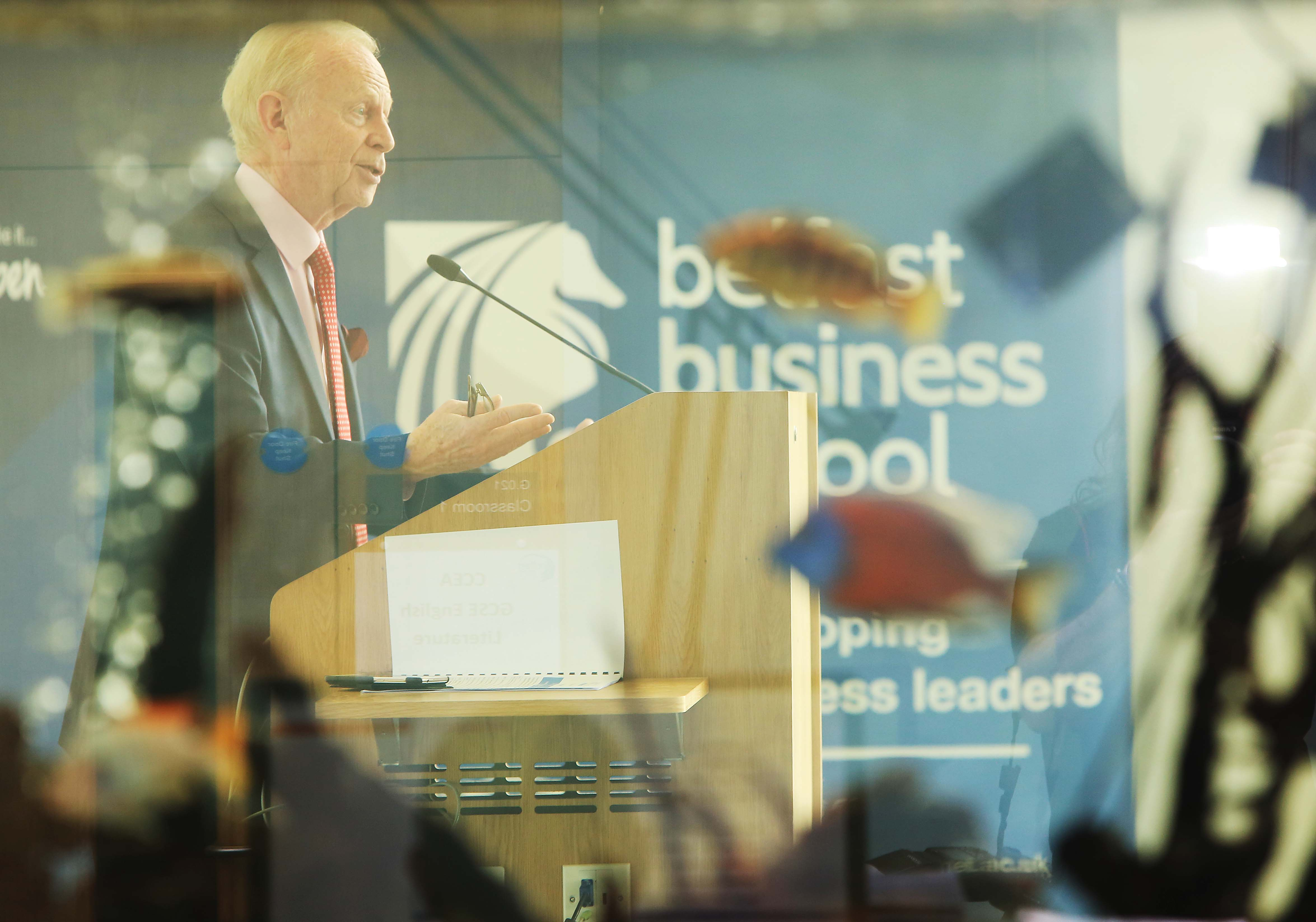 photo of Lord Empey at summit